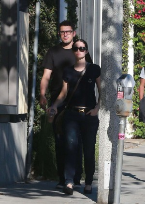 Emmy Rossum and Sam Esmail Out in Los Angeles