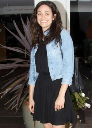 Emmy Rossum at Vibrato in Los Angeles