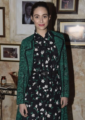 Emmy Rossum - Attends Celebration for Forest Whitaker in New York City