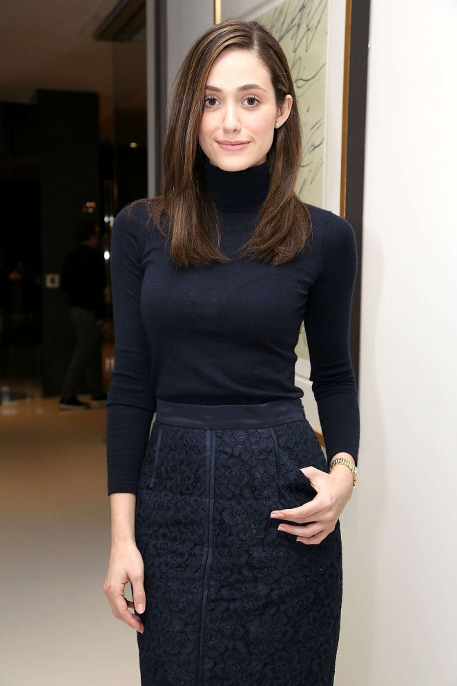 Emmy Rossum - Carbon38 2015 Anniversary Party in Hollywood