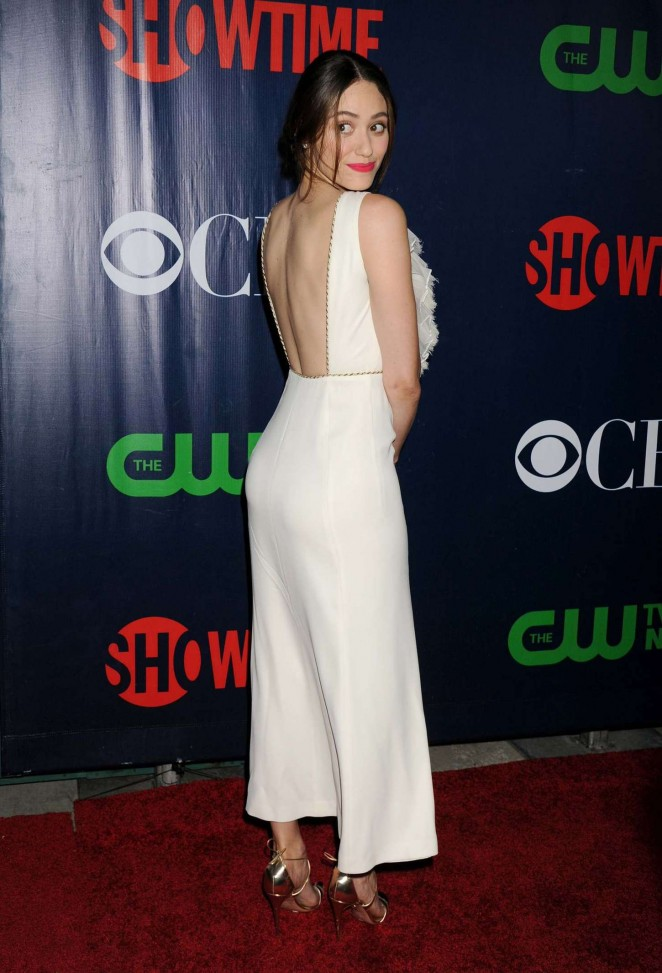 Emmy Rossum - CBS, CW and Showtime TCA Summer Press Tour Party 2015 in LA