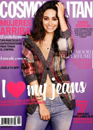 Emmy Rossum - Cosmopolitan Mexico Magazine (January 2015)