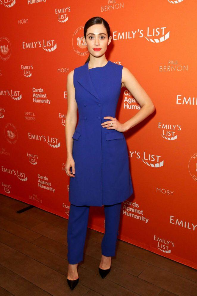Emmy Rossum - 'Emily's List 'Run. Resist. Win' Event in Los Angeles