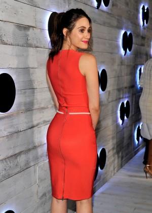 Emmy Rossum - go90 Social Entertainment Platform Sneek Peek in LA