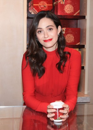 Emmy Rossum - Hosts 'Hot Chocolate for a Cause' Benefit in NYC