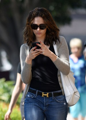 Emmy Rossum in Jeans -02