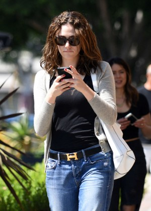 Emmy Rossum in Jeans -05