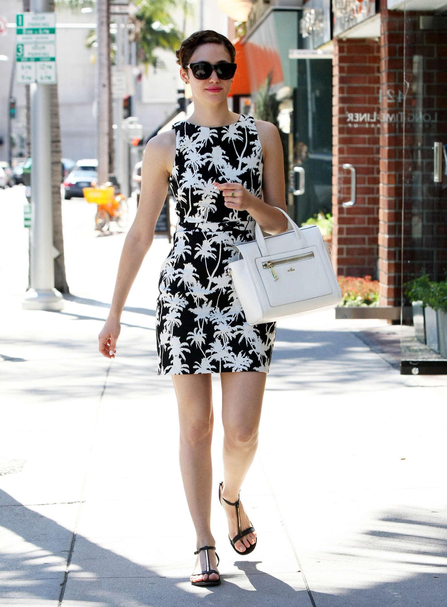 emmy rossum in short dress 17 gotceleb