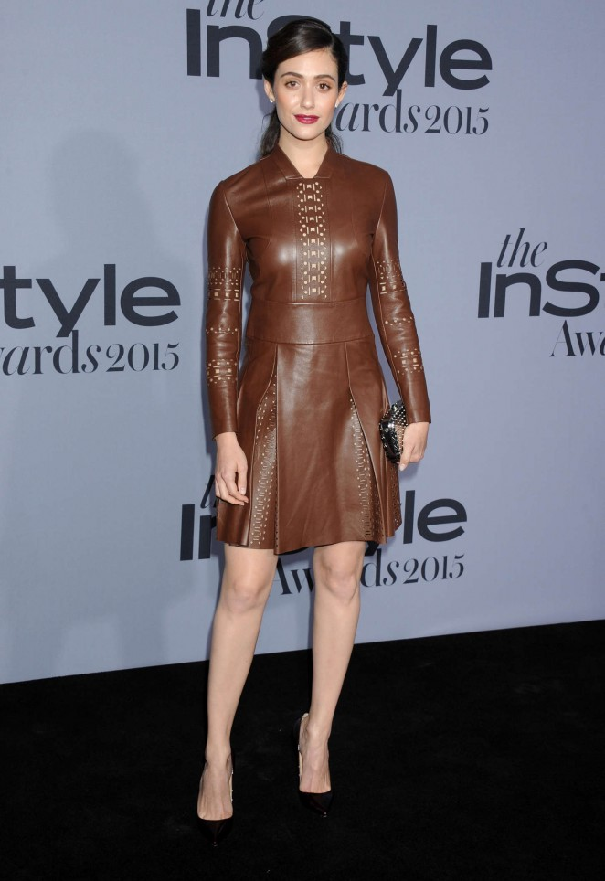 Emmy Rossum - Instyle Awards 2015 in Los Angeles
