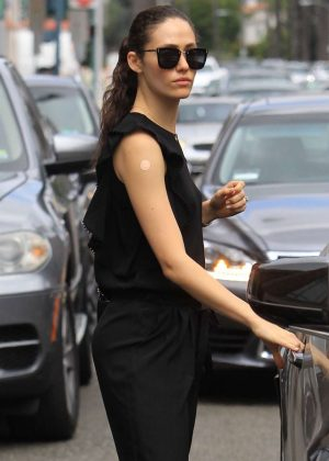 Emmy Rossum - Leaves Doctor's Office in Beverly Hills