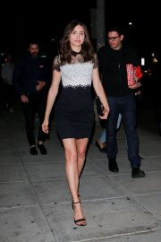 Emmy Rossum - Leaves Matsuhisa Restaurant in Beverly Hills
