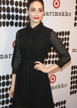Emmy Rossum - Marimekko For Target Launch in New York