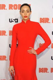 Emmy Rossum - 'Mr. Robot' Season 4 Premiere in NYC