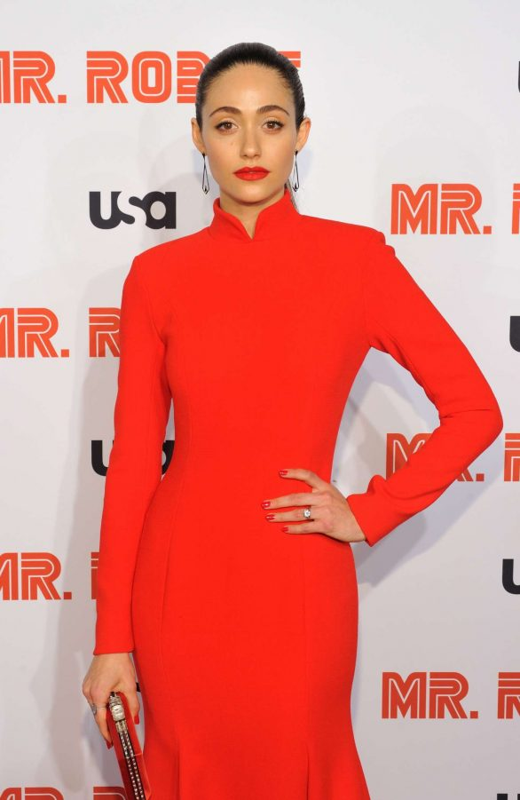 Emmy Rossum - 'Mr. Robot' Season 4 Premiere in NYC