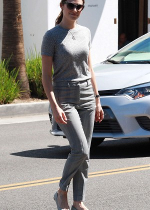 Emmy Rossum - Out and about in Beverly Hills