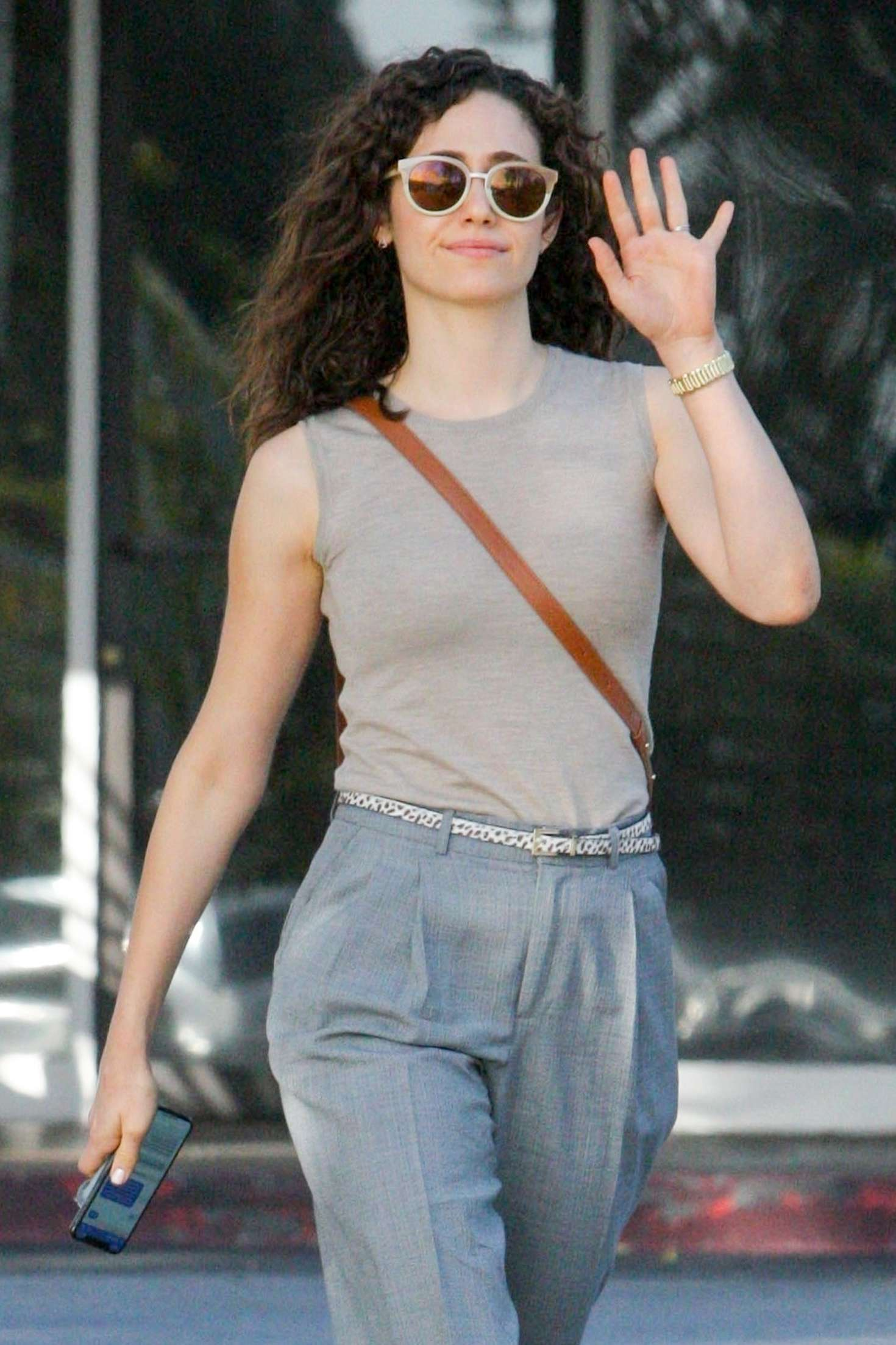 Emmy Rossum - Out and about in Los Angeles