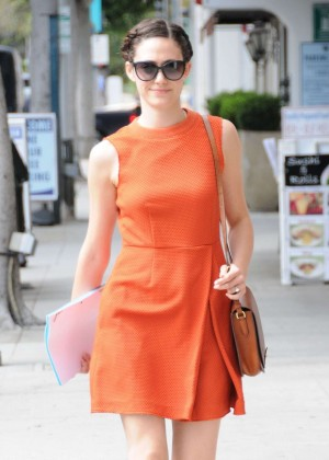 Emmy Rossum - Out Beverly Hills