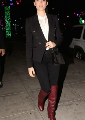 Emmy Rossum - Out for dinner at Matsuhisa Restaurant in Los Angeles