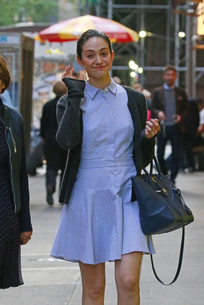 Emmy Rossum - Out in New York City