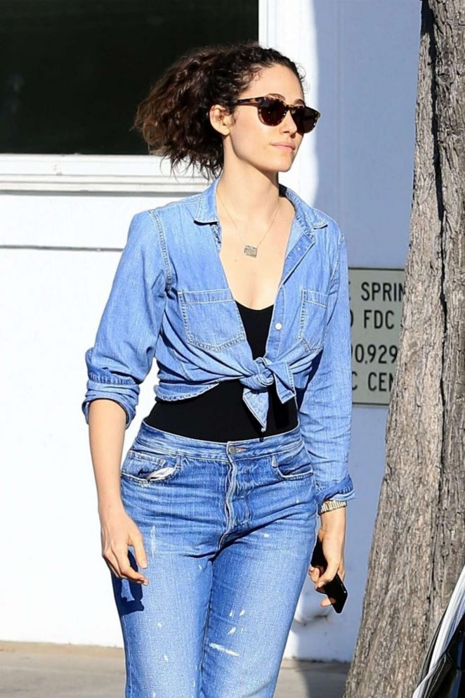Emmy Rossum - Seen Out In West Hollywood