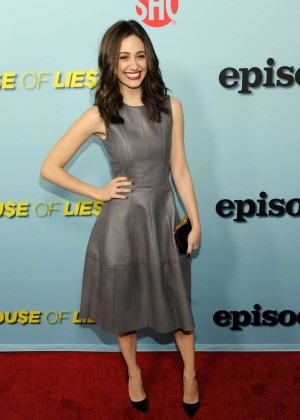 """Emmy Rossum - """"Shameless"""", """"House of Lies"""" and """"Episodes"""" Premiere in West Hollywood"""