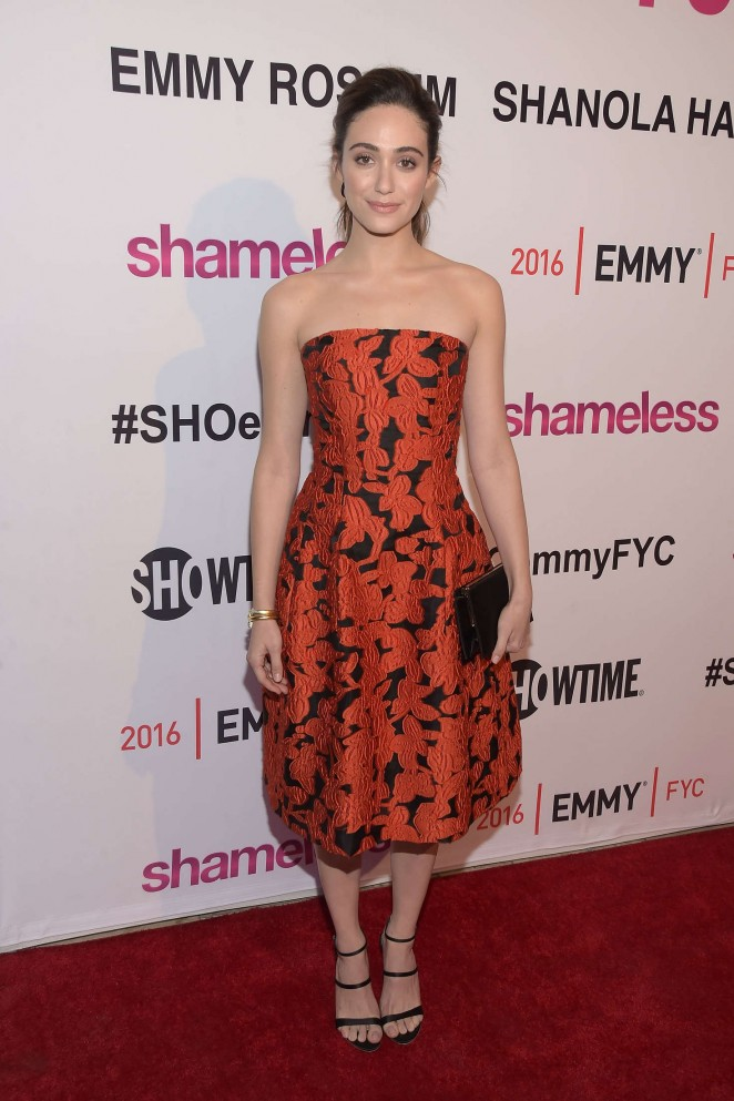 Emmy Rossum - 'Shameless' Screening and Panel Discussion in West Hollywood