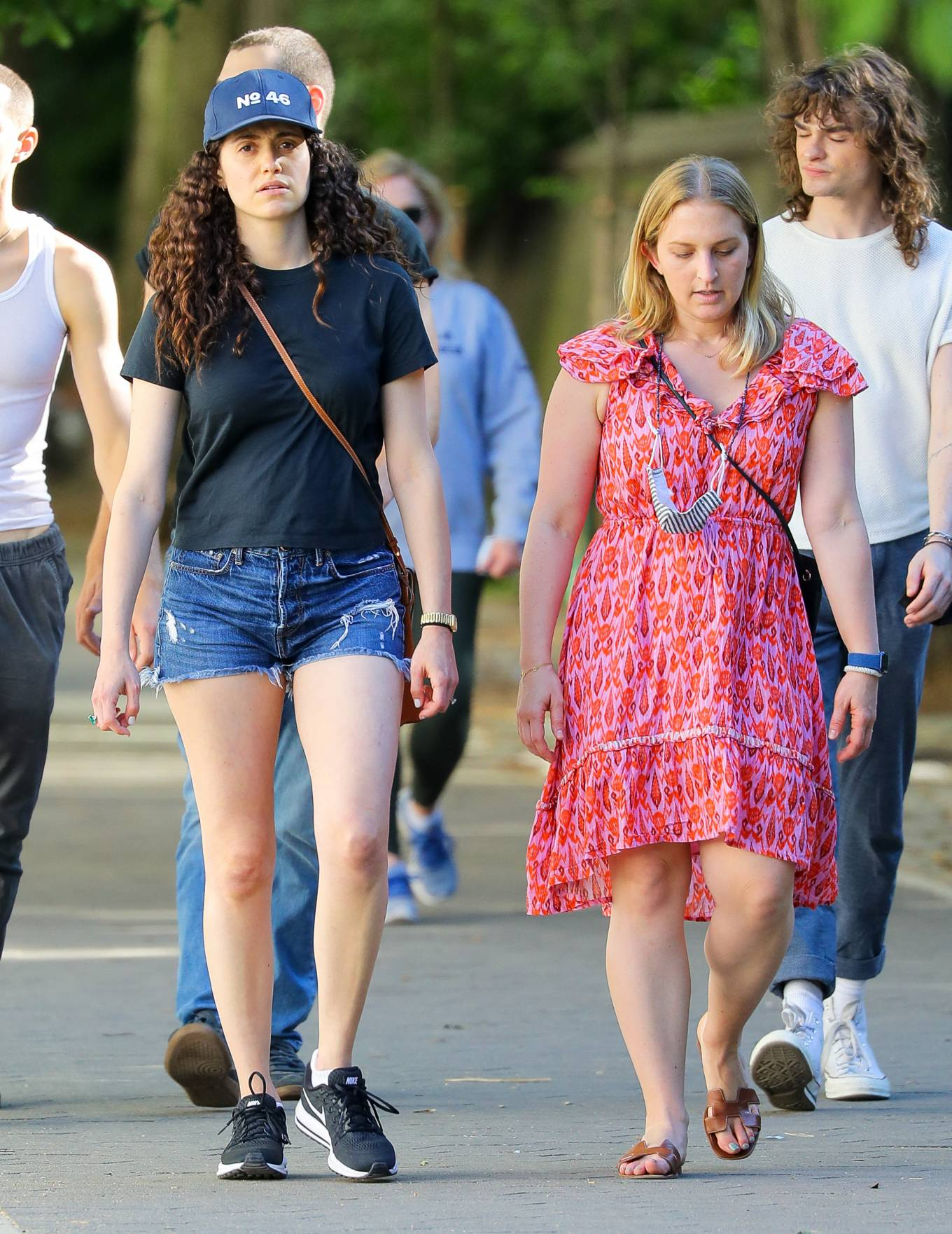Emmy Rossum - Spotted In Central Park