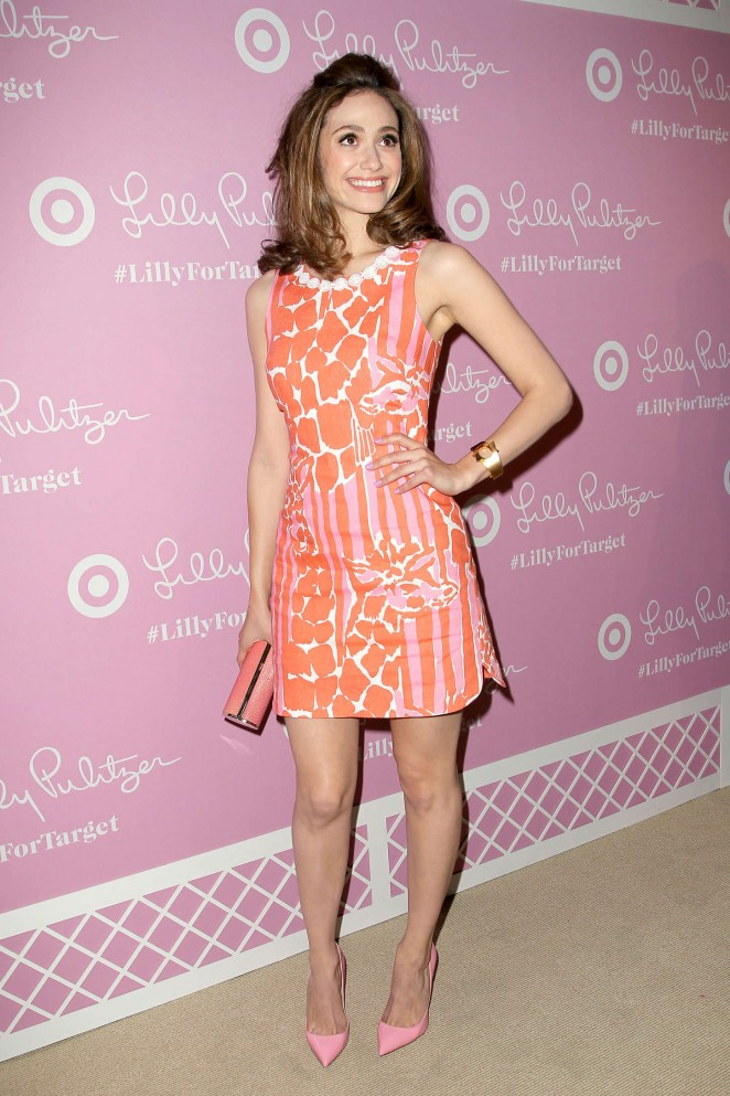 Emmy Rossum - Target Launch Event in NY