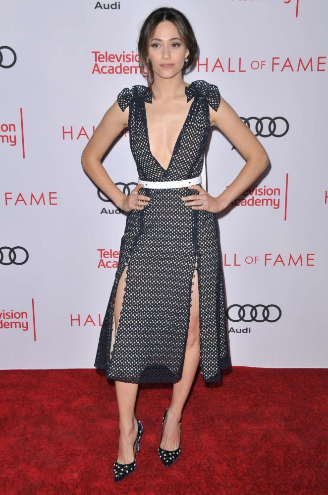 Emmy Rossum – Television Academy 2017 Hall of Fame Induction Ceremony in LA