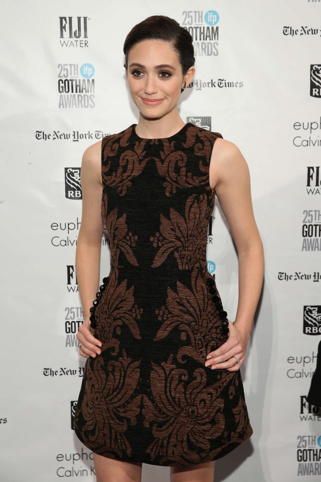Emmy Rossum - The 25th IFP Gotham Independent Film Awards in NY