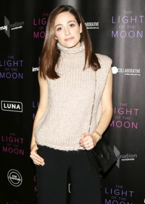Emmy Rossum - 'The Light of the Moon' Premiere in Los Angeles