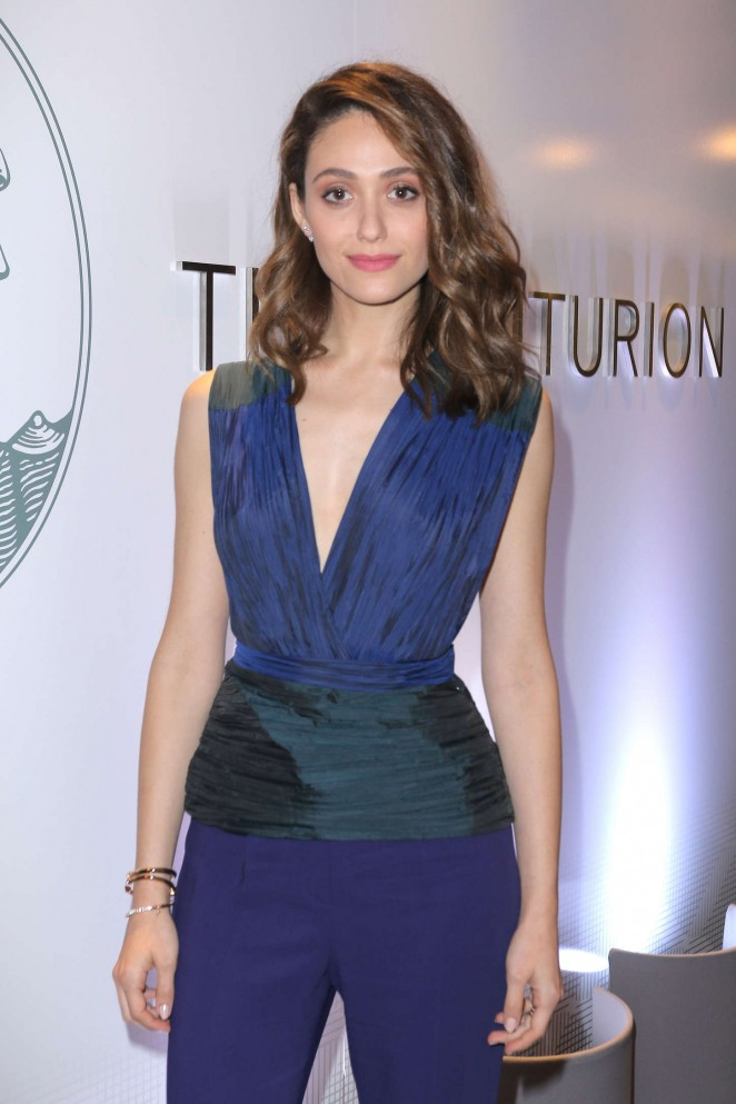 Emmy Rossum - The Opening Of The Centurion Lounge at Miami International Airport in Miami