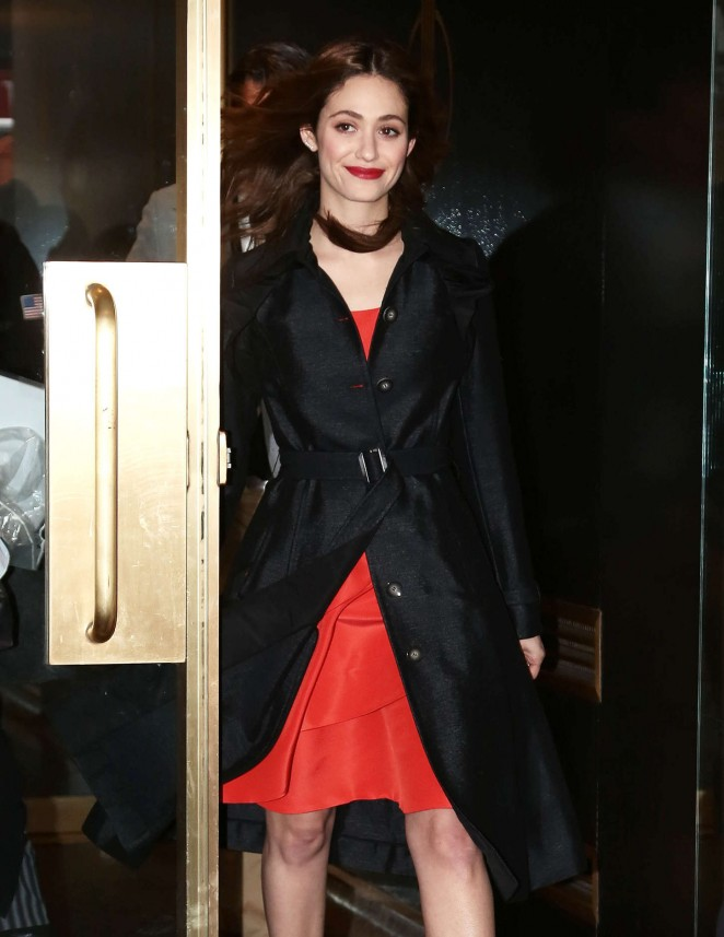 Emmy Rossum – 'Today' show in NYC