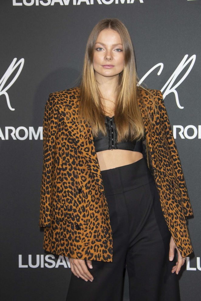 Eniko Mihalik – CR Fashion Book x Luisasaviaroma: Photocall in Paris