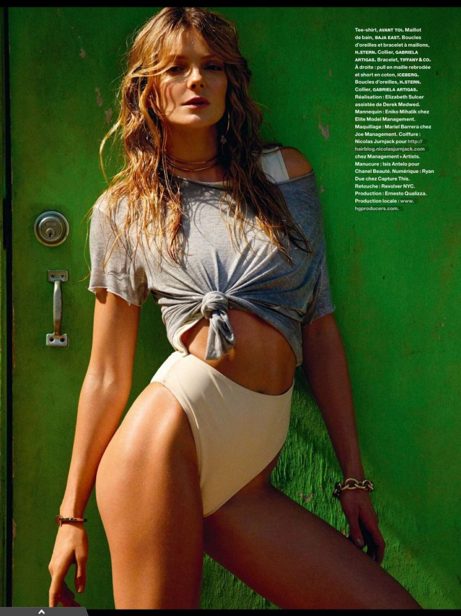 Eniko Mihalik - Numero Magazine (April 2015)