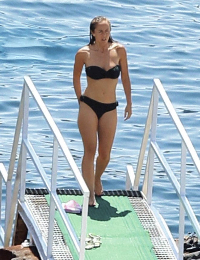 Enora Malagre in Bikini in Italy