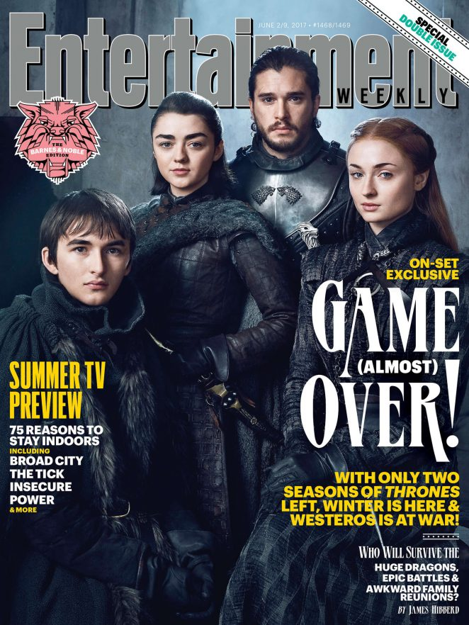 Entertainment Weekly - Game of Thrones Photoshoot 2017