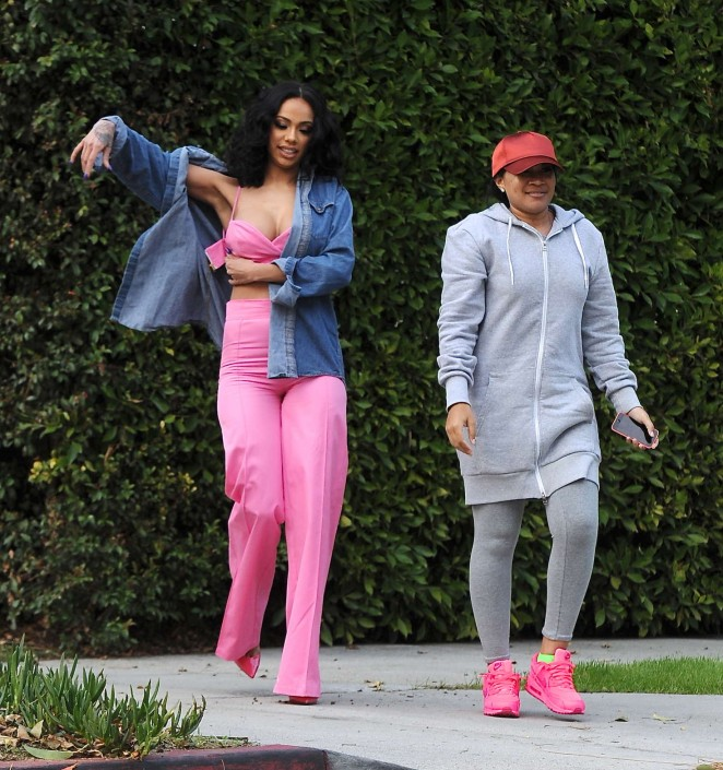 Erica Mena on a Photoshoot in Beverly Hills -02