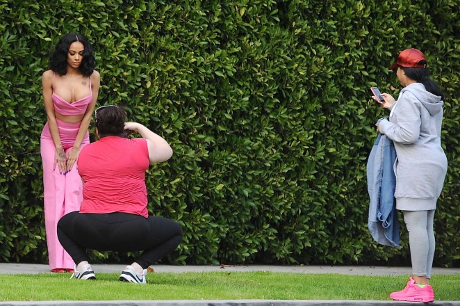 Erica Mena on a Photoshoot in Beverly Hills -12