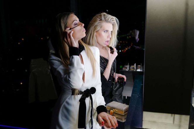 Erica Pelosini - Tom Ford: EXTREME Cocktail Party FW 2018 in NY