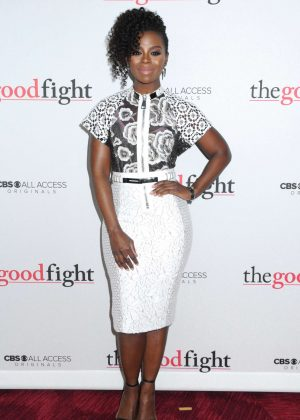 Erica Tazel - 'The Good Fight' Premiere in New York City - GotCeleb