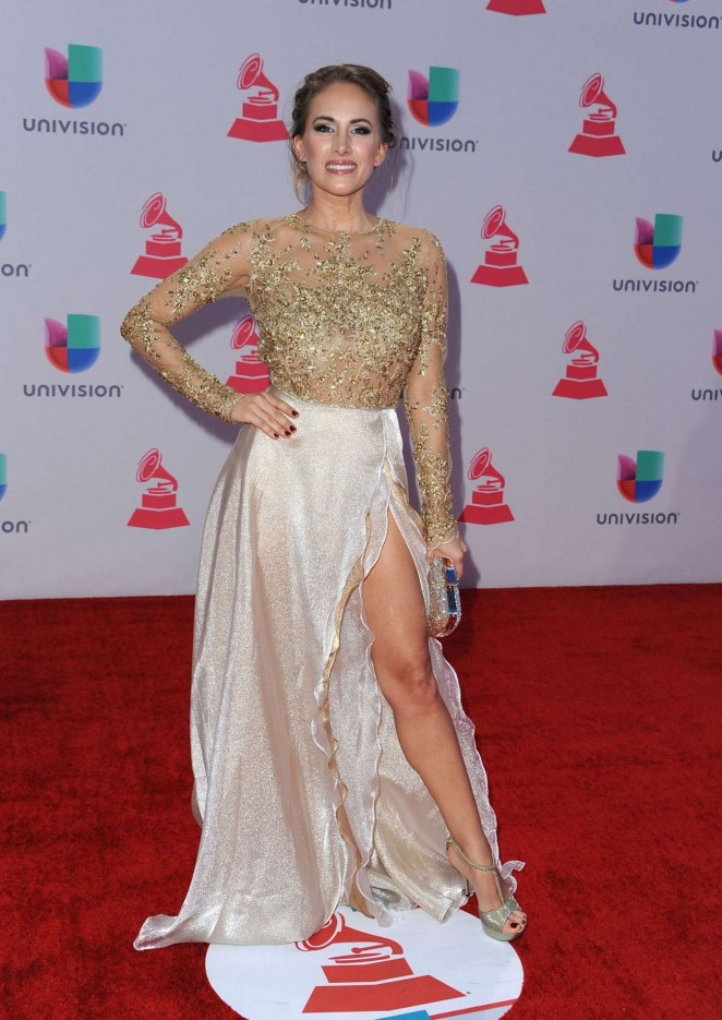 Erika Bruni - 2015 Latin Grammy Awards in Las Vegas