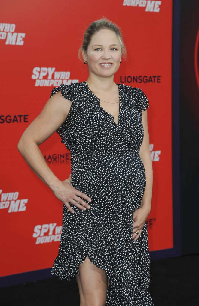 Erika Christensen – 'The Spy Who Dumped Me' Premiere in Los Angeles