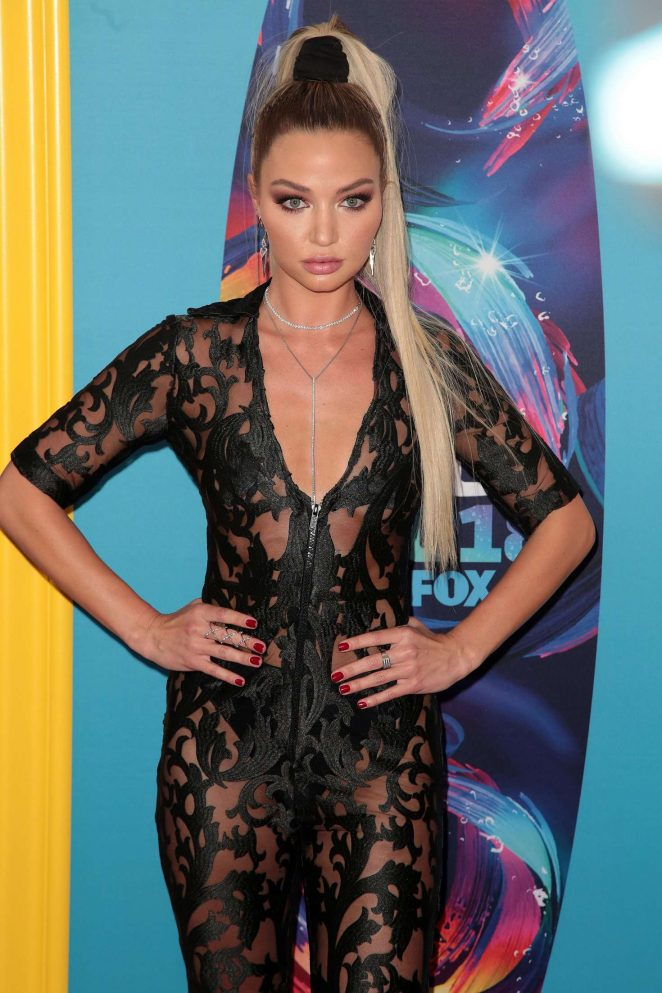 Erika Costell - 2018 Teen Choice Awards in Inglewood