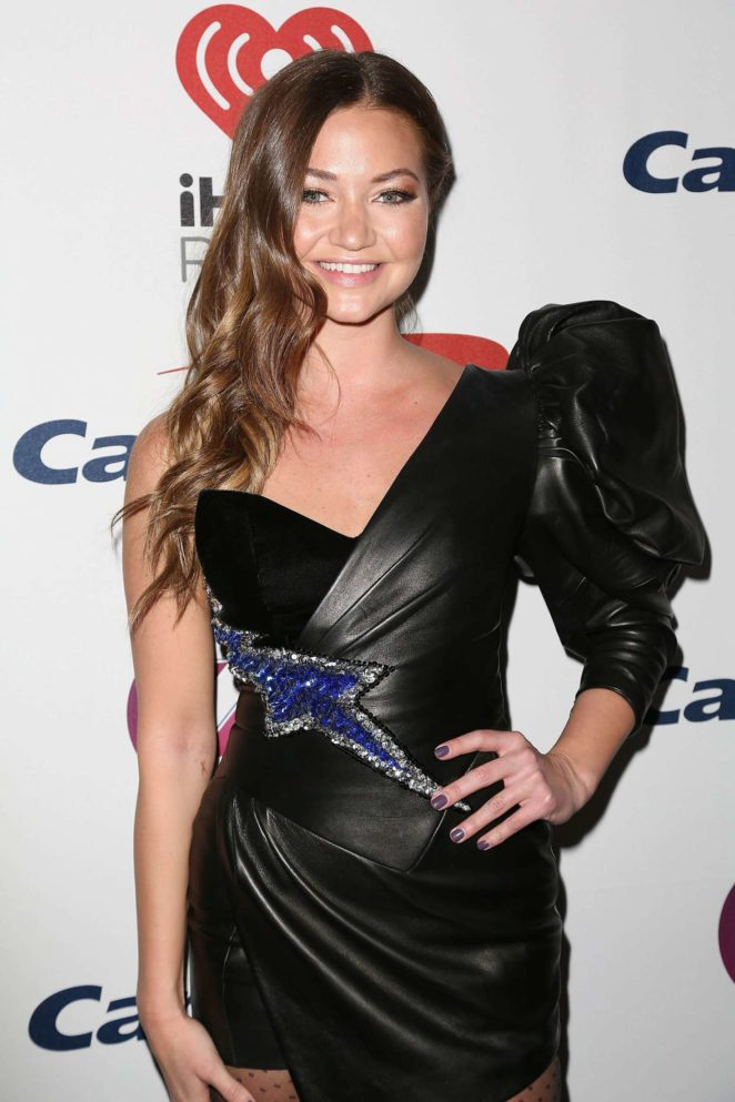 Erika Costell - Z100's iHeartRadio Jingle Ball 2017 in NY