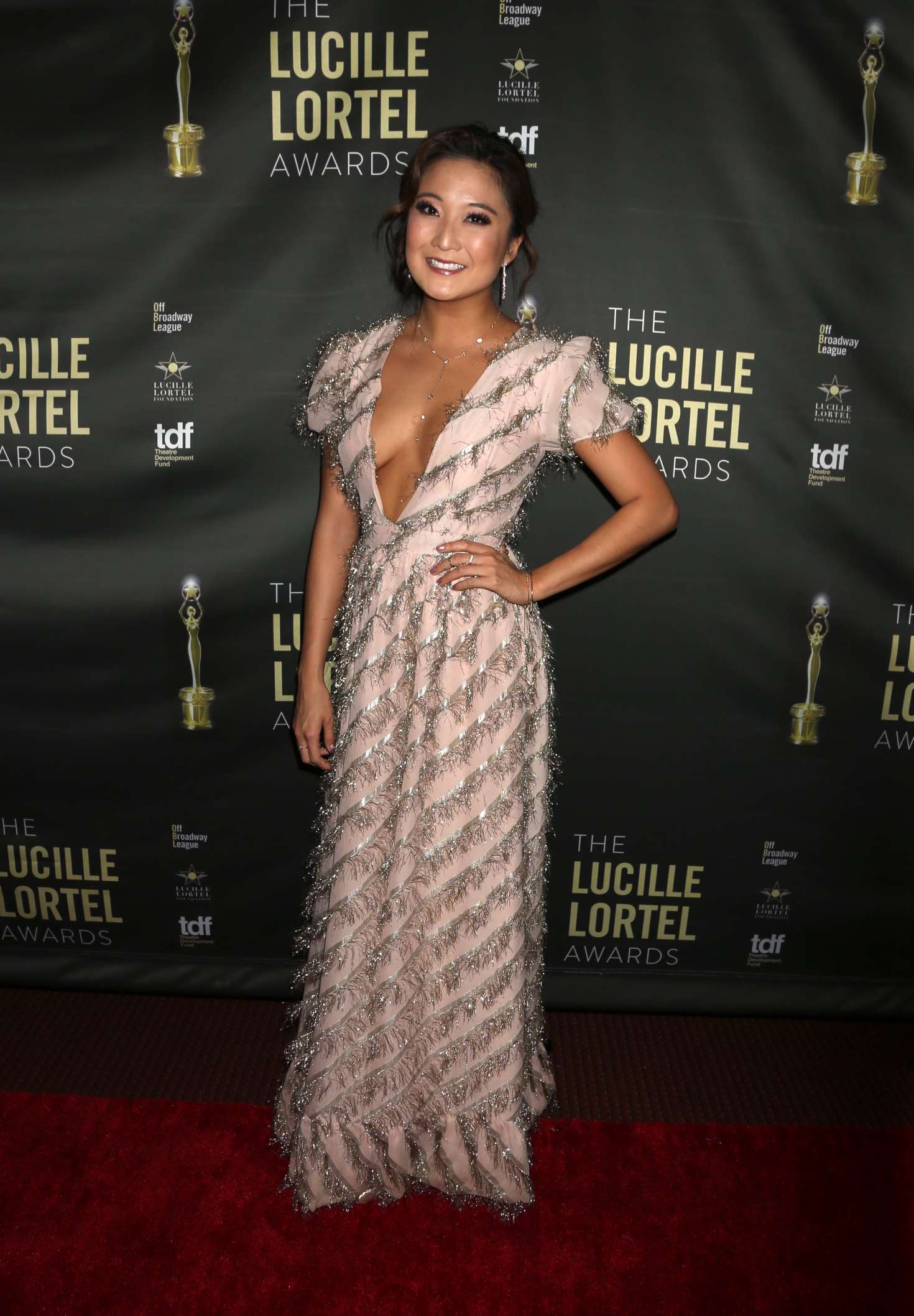 Image result for 2018 lucille lortel awards ashley park
