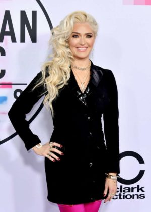 Erika Jayne - 2017 American Music Awards in Los Angeles