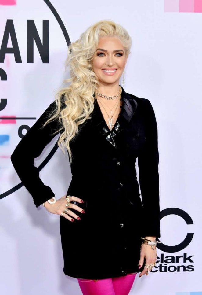 Erika Jayne - 2017 American Music Awards in Los Angeles