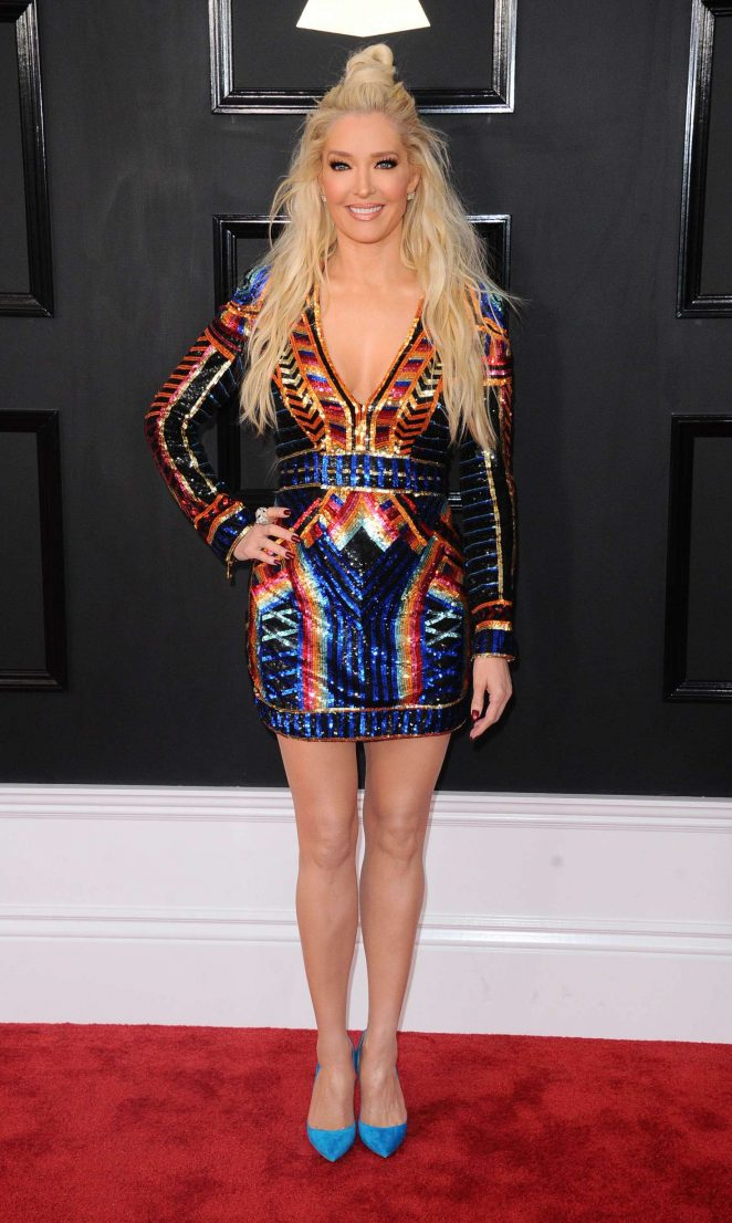Erika Jayne - 59th GRAMMY Awards in Los Angeles