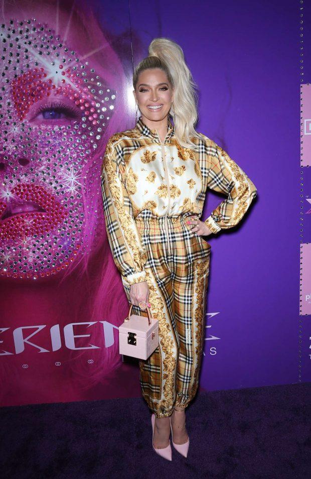 Erika Jayne - 'Christina Aguilera: The Xperience' Show Launch in Las Vegas